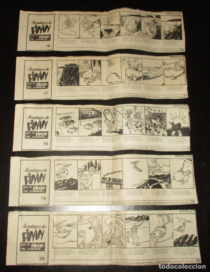 Cómics: AVENTURES DE PINÍN, POR ALFONSO. TIRAS COLECCIONABLES 1 A 30 PUBLICADAS POR LA NUEVA ESPAÑA EN 1985. - Foto 6 - 155692170