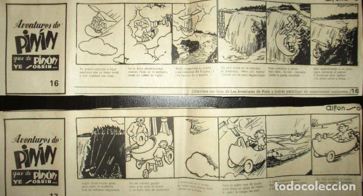 Cómics: AVENTURES DE PINÍN, POR ALFONSO. TIRAS COLECCIONABLES 1 A 30 PUBLICADAS POR LA NUEVA ESPAÑA EN 1985. - Foto 10 - 155692170