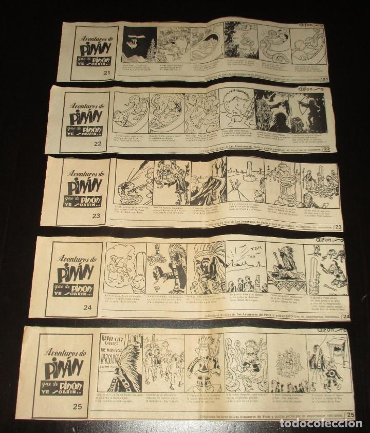 Cómics: AVENTURES DE PINÍN, POR ALFONSO. TIRAS COLECCIONABLES 1 A 30 PUBLICADAS POR LA NUEVA ESPAÑA EN 1985. - Foto 7 - 155692170
