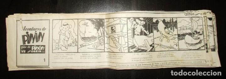 Cómics: AVENTURES DE PINÍN, POR ALFONSO. TIRAS COLECCIONABLES 1 A 30 PUBLICADAS POR LA NUEVA ESPAÑA EN 1985. - Foto 11 - 155692170