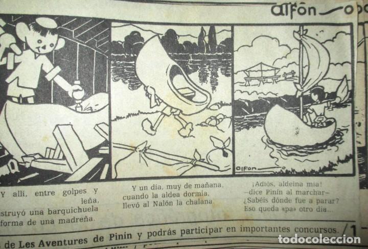 Cómics: AVENTURES DE PINÍN, POR ALFONSO. TIRAS COLECCIONABLES 1 A 30 PUBLICADAS POR LA NUEVA ESPAÑA EN 1985. - Foto 12 - 155692170
