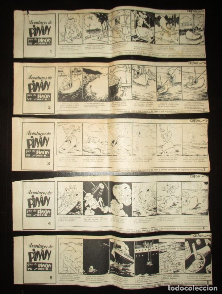 Cómics: AVENTURES DE PINÍN, POR ALFONSO. TIRAS COLECCIONABLES 1 A 30 PUBLICADAS POR LA NUEVA ESPAÑA EN 1985. - Foto 3 - 155692170