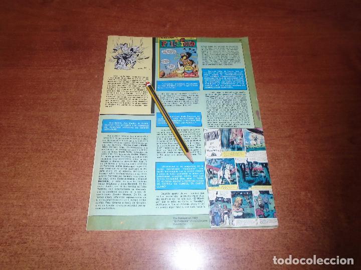 Cómics: ENTREVISTA A VÍCTOR MORA (EL CAPITÁN TRUENO) AÑO 1986 - Foto 2 - 156671838