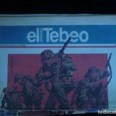 Comics : EL PERIODICO EL TEBEO NUMERO 3. Lote 160499334