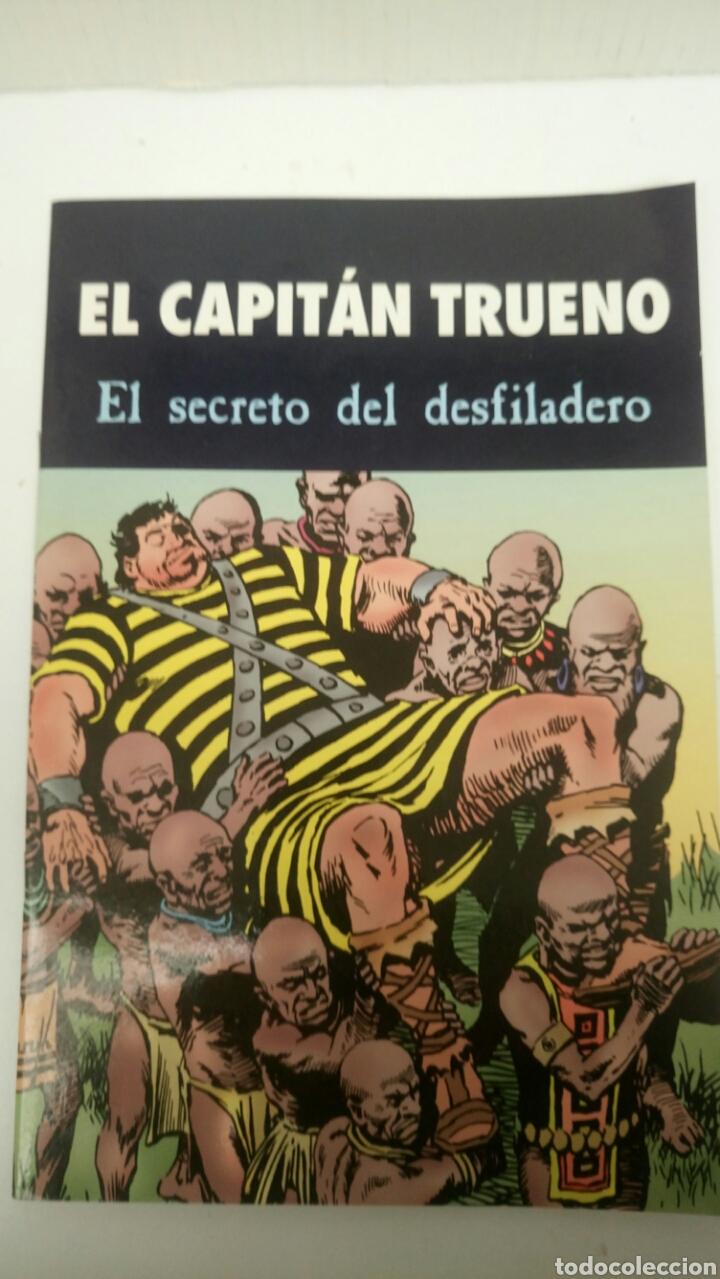EL CAPITAN TRUENO, EL SECRETO DEL DESFILADERO, DE MORA Y FUENTES MAN. (Tebeos y Comics - Suplementos de Prensa)