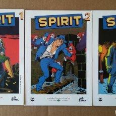 Cómics: LOTE THE SPIRIT NÚMEROS 1-2-3 (GRANDES HÉROES DEL CÓMIC/BIBLIOTECA EL MUNDO, 2003). COMPLETA. Lote 160814001