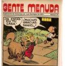 Cómics: GENTE MENUDA. Nº 23. SUPLEMENTO ¨LOS DOMINGOS DE A B C ¨. (ST/C86). Lote 160839310