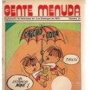 Cómics: GENTE MENUDA. Nº 24. SUPLEMENTO ¨LOS DOMINGOS DE A B C ¨. (ST/C86). Lote 160839594
