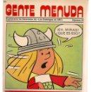 Cómics: GENTE MENUDA. Nº 25. SUPLEMENTO ¨LOS DOMINGOS DE A B C ¨. (ST/C86). Lote 160839714