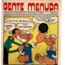 Cómics: GENTE MENUDA. Nº 27. SUPLEMENTO ¨LOS DOMINGOS DE A B C ¨. (ST/C86). Lote 160840054