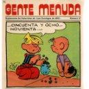 Cómics: GENTE MENUDA. Nº 37. SUPLEMENTO ¨LOS DOMINGOS DE A B C ¨. (ST/C86). Lote 160840650