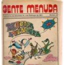Cómics: GENTE MENUDA. Nº 42. SUPLEMENTO ¨LOS DOMINGOS DE A B C ¨. (ST/C86). Lote 160841378