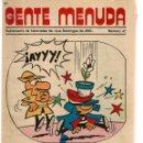Cómics: GENTE MENUDA. Nº 47. SUPLEMENTO ¨LOS DOMINGOS DE A B C ¨. (ST/C86). Lote 160841754
