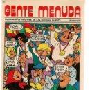 Cómics: GENTE MENUDA. Nº 52. SUPLEMENTO ¨LOS DOMINGOS DE A B C ¨. (ST/C86). Lote 160842274