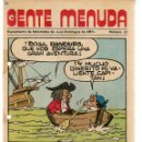 Cómics: GENTE MENUDA. Nº 57. SUPLEMENTO ¨LOS DOMINGOS DE A B C ¨. (ST/C86). Lote 160842602
