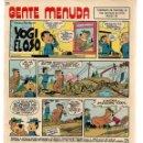 Cómics: GENTE MENUDA. Nº 62. SUPLEMENTO ¨LOS DOMINGOS DE A B C ¨. (ST/C86). Lote 160842754