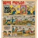 Cómics: GENTE MENUDA. Nº 62. SUPLEMENTO ¨LOS DOMINGOS DE A B C ¨. (ST/C86). Lote 160842834