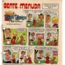 Cómics: GENTE MENUDA. Nº 64. SUPLEMENTO ¨LOS DOMINGOS DE A B C ¨. (ST/C86). Lote 160842970