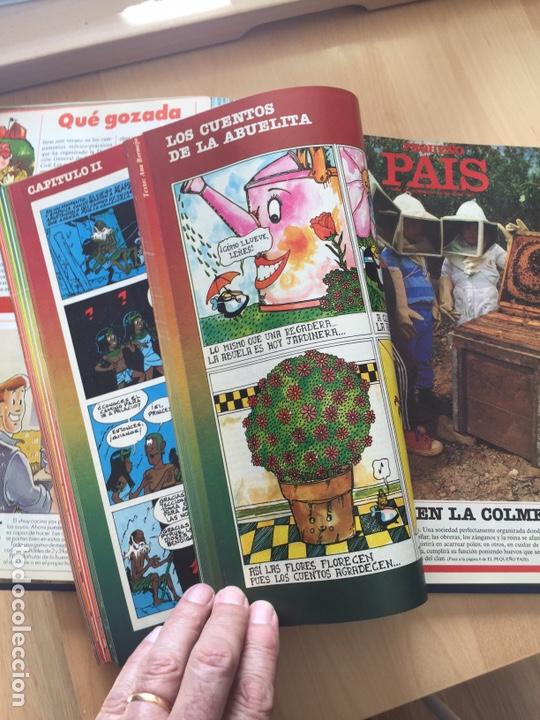 Cómics: EL PEQUEÑO PAÍS. 49 números de 1981,82,83 y 84. - Foto 6 - 160985348