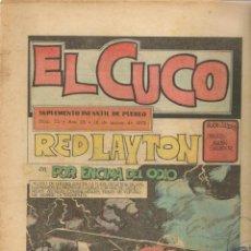 Cómics: EL CUCO. SUPLEMENTO INFANTIL DE PUEBLO. Nº 72. 18 MARZO 1972.(RF.MA)C/30. Lote 161397202