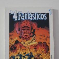 Cómics: MARVEL COMICS - LOS 4 FANTÁSTICOS CUATRO BIBLIOTECA EL MUNDO GRANDES HÉROES DEL CÓMIC LIBRO 1. Lote 162422170