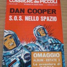 Cómics: CORRIERE DEI PICCOLI - NÚM. 35 - AÑO 1968. Lote 165769450