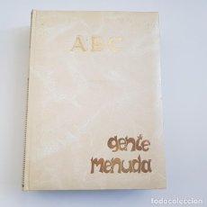 Cómics: GENTE MENUDA, SUPLEMENTO ABC, TOMO II, NºS. 53 A 104, III ÉPOCA,MUY BUEN ESTADO.. Lote 167572176