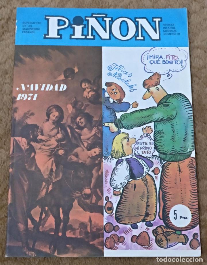 Cómics: PIÑON nº 19, 30 y 34 (Magisterio español 1970/71/72) - Foto 4 - 142324694
