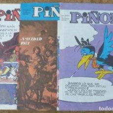 Cómics: PIÑON Nº 19, 30 Y 34 (MAGISTERIO ESPAÑOL 1970/71/72). Lote 142324694