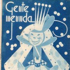 Cómics: GENTE MENUDA - SUPLEMENTO INFANTIL DE BLANCO Y NEGRO - 11 DE FEBRERO DE 1934.. Lote 169293872
