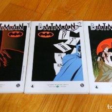 Cómics: BATMAN 1 AL 3 (EL MUNDO). Lote 172436282