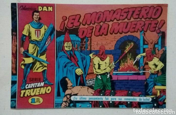 CAPITÁN TRUENO PELIGRO A LA ORDEN N°27 (Tebeos y Comics - Suplementos de Prensa)