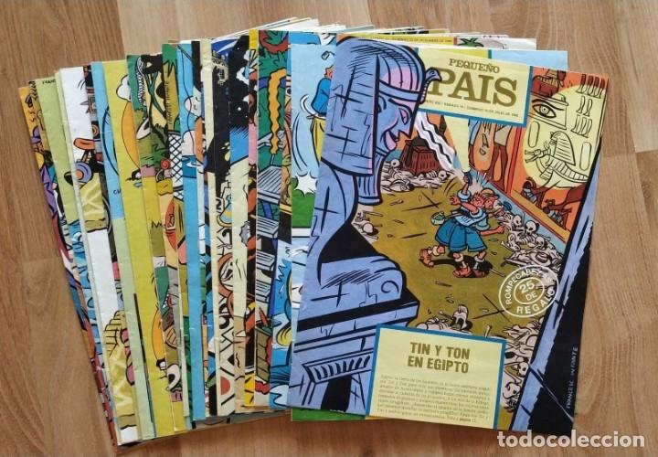 LOTE DE 24 NUMEROS EL PEQUEÑO PAIS. (Tebeos y Comics - Suplementos de Prensa)