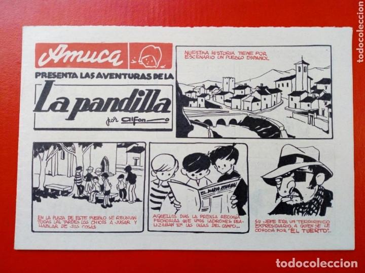 TEBEO / COMIC - AMUCA - LA PANDILLA (ALFON), EL GUARDIÁN ENMASCARADO (FRAN STRIKER), PASATIEMPOS ETC (Tebeos y Comics - Suplementos de Prensa)