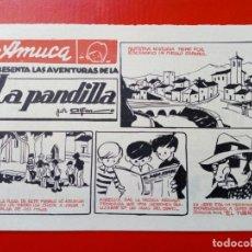 Cómics: TEBEO / COMIC - AMUCA - LA PANDILLA (ALFON), EL GUARDIÁN ENMASCARADO (FRAN STRIKER), PASATIEMPOS ETC. Lote 178291736