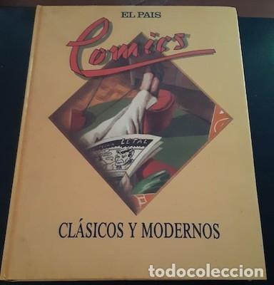 CÓMICS CLÁSICOS Y MODERNOS DE EL PAÍS, 1988, Nº 1 A 25 (Tebeos y Comics - Suplementos de Prensa)