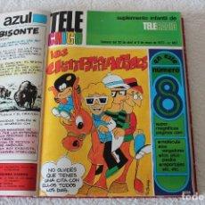 Cómics: TOMO ENCUADERNADO REVISTA TELE CHICO, 106 NUMEROS (DESDE NOVIEMBRE 1972 A ABRIL DE 1975). Lote 179316181