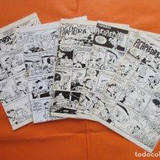 Cómics: LOTE 5 LOS PICAPIEDRA HANNA BARBERA - EXTRAÍDO REVISTAS AÑO 1968/1969. Lote 180256126