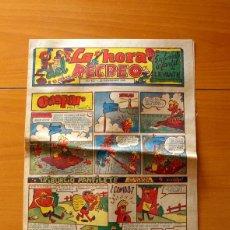 Cómics: LA HORA DEL RECREO, Nº 412 - SUPLEMENTO INFANTIL DE LEVANTE DICIEMBRE DE 1960 - VER FOTOS. Lote 182828512