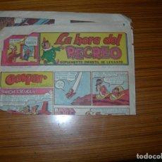 Cómics: LA HORA DEL RECREO Nº 439 EDITA LEVANTE . Lote 182882763