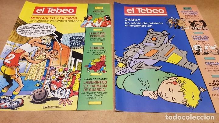 Cómics: EL TEBEO - EDITADO POR EL PERIÓDICO - AÑO 1991 / NUMS . 100 AL 109 / NUEVOS. - Foto 2 - 183293590
