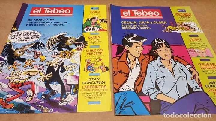 Cómics: EL TEBEO - EDITADO POR EL PERIÓDICO - AÑO 1991 / NUMS . 100 AL 109 / NUEVOS. - Foto 3 - 183293590