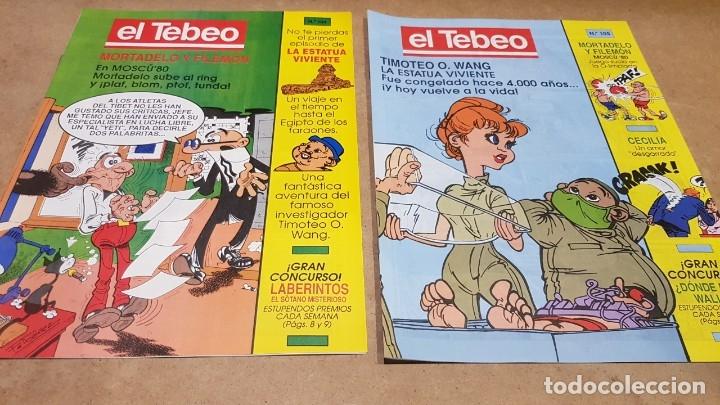 Cómics: EL TEBEO - EDITADO POR EL PERIÓDICO - AÑO 1991 / NUMS . 100 AL 109 / NUEVOS. - Foto 4 - 183293590