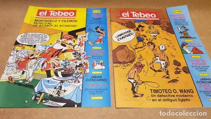 Cómics: EL TEBEO - EDITADO POR EL PERIÓDICO - AÑO 1991 / NUMS . 100 AL 109 / NUEVOS. - Foto 6 - 183293590