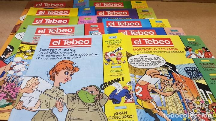EL TEBEO - EDITADO POR EL PERIÓDICO - AÑO 1991 / NUMS . 100 AL 109 / NUEVOS. (Tebeos y Comics - Suplementos de Prensa)
