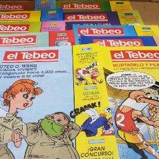 Cómics: EL TEBEO - EDITADO POR EL PERIÓDICO - AÑO 1991 / NUMS . 100 AL 109 / NUEVOS.. Lote 183293590