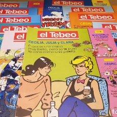 Cómics: EL TEBEO - EDITADO POR EL PERIÓDICO - AÑO 1991 / NUMS . 80 AL 89 / NUEVOS.. Lote 183298426