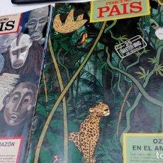 Cómics: LOTE DE 22 FASCICULOS CORRELATIVOS DE EL PEQUEÑO PAIS - Nº 482 A 503 - FEBRERO A JULIO 1991 - TINTIN. Lote 183780917