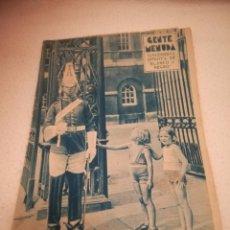 Cómics: GENTE MENUDA. SUPLEMENTO INFANTIL DE BLANCO Y NEGRO. 6 OCTUBRE 1935. Lote 184388638