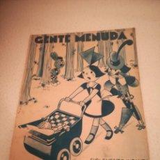 Cómics: GENTE MENUDA. SUPLEMENTO INFANTIL DE BLANCO Y NEGRO. 24 SEPTIEMBRE 1933. Lote 184388743